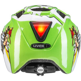 UVEX Finale Junior Helmet LED green pirate
